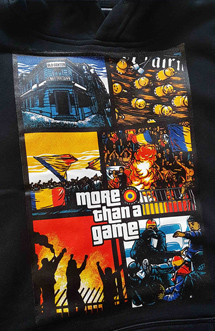 "Hanorac Ofensiva ""More than a game"" negru"
