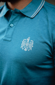 "Polo Patriot ""Stema Clasic"" blue"