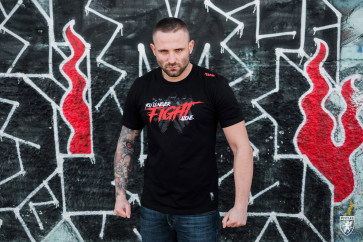 "Tricou PGWEAR ""Fight"" black"