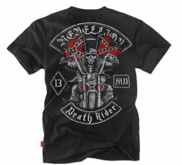 Tricou Dobermans Aggressive DEATH RIDER 2 black