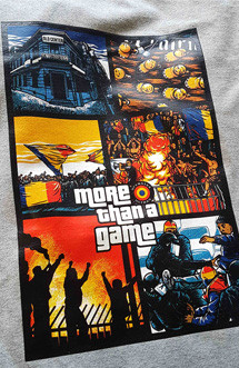 "Tricou Ofensiva ""More than a game"" gri"