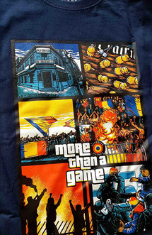 "Tricou Ofensiva ""More than a game"" bleumarin"