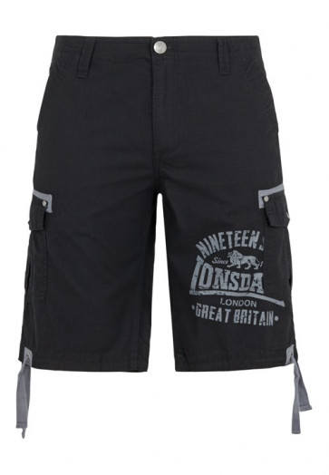 Short Lonsdale London SEATON black