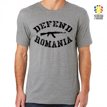 "Tricou Patriotism în 3D ""Defend Romania"""