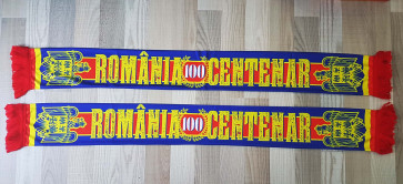 "2 X Esarfa Patriot ""Romania 100"""