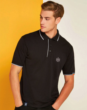 "Polo Patriot ""Stema basic"" negru"