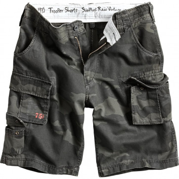 Short SURPLUS black/camo
