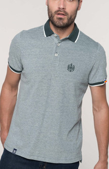 "Polo Patriot ""Stema basic"" gri"