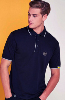 "Polo Patriot ""Stema basic"" bleumarin"