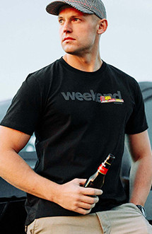 "Tricou PGWEAR ""Weekend"" Black"